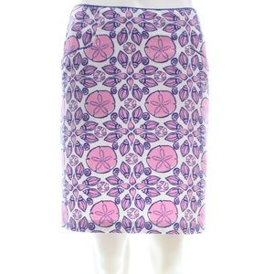 VINEYARD VINES SEASHELL PRINT MINI SKORT SIZE 4